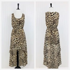 Forever 21 • Leopard High Low Dress • S